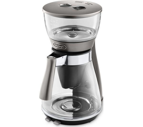 Delonghi Clessidra Icm17210 Filter Coffee Machine Silver