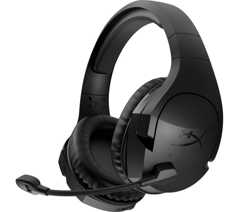Image of Cloud Stinger PC Wireless Gaming Headset - Black, Black