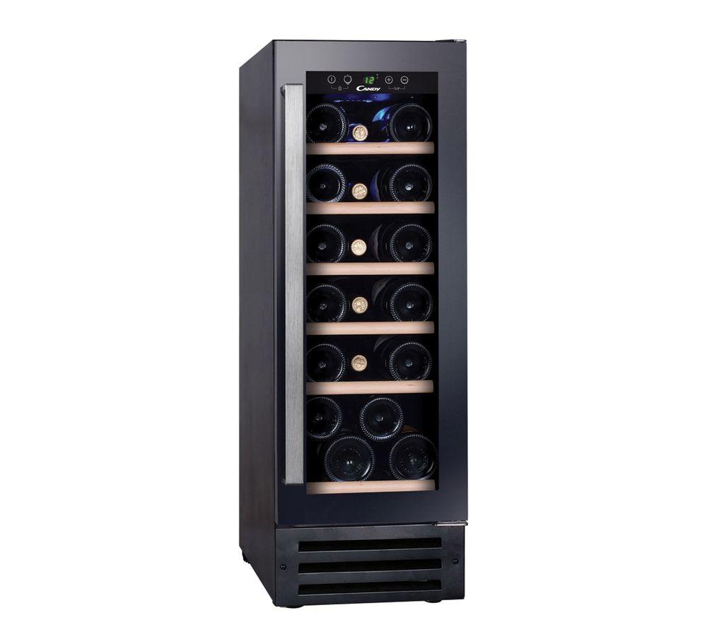 CANDY CCVB 30 UK Wine Cooler - Black