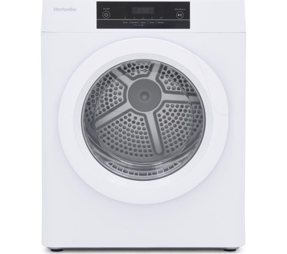 MONTPELLIER MTD30P 3 kg Vented Tumble Dryer - White, White