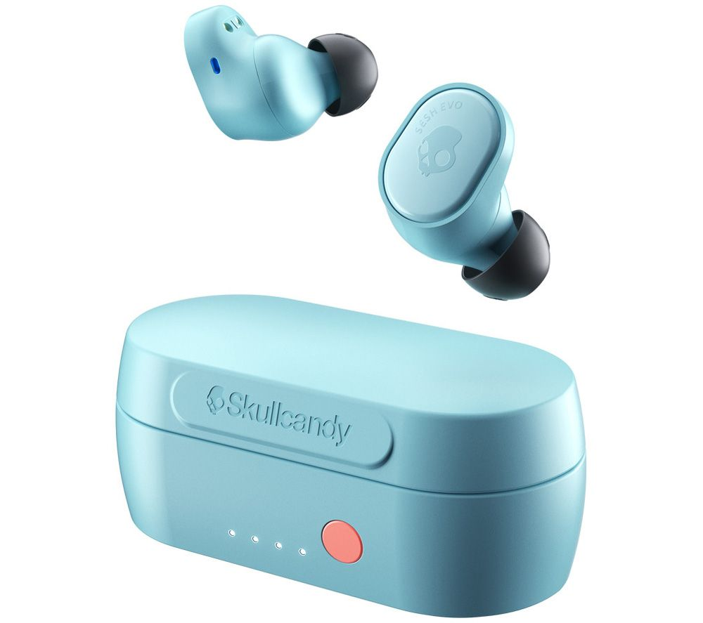 SKULLCANDY Sesh Evo True Wireless Bluetooth Earphones - Bleached Blue