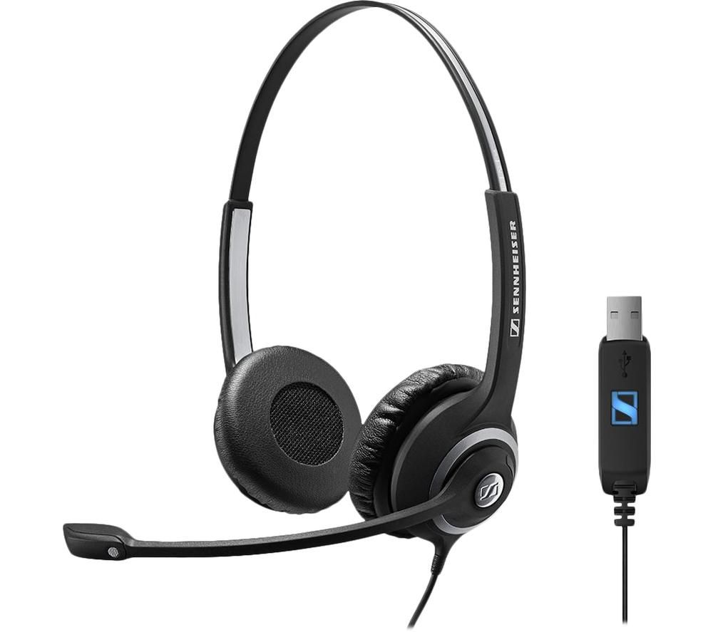 Image of SENNHEISER Circle SC 260 USB Headset - Black, Black