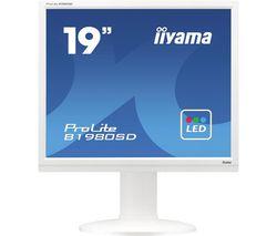 ProLite B1980SD-W1 19'' LCD Monitor - White
