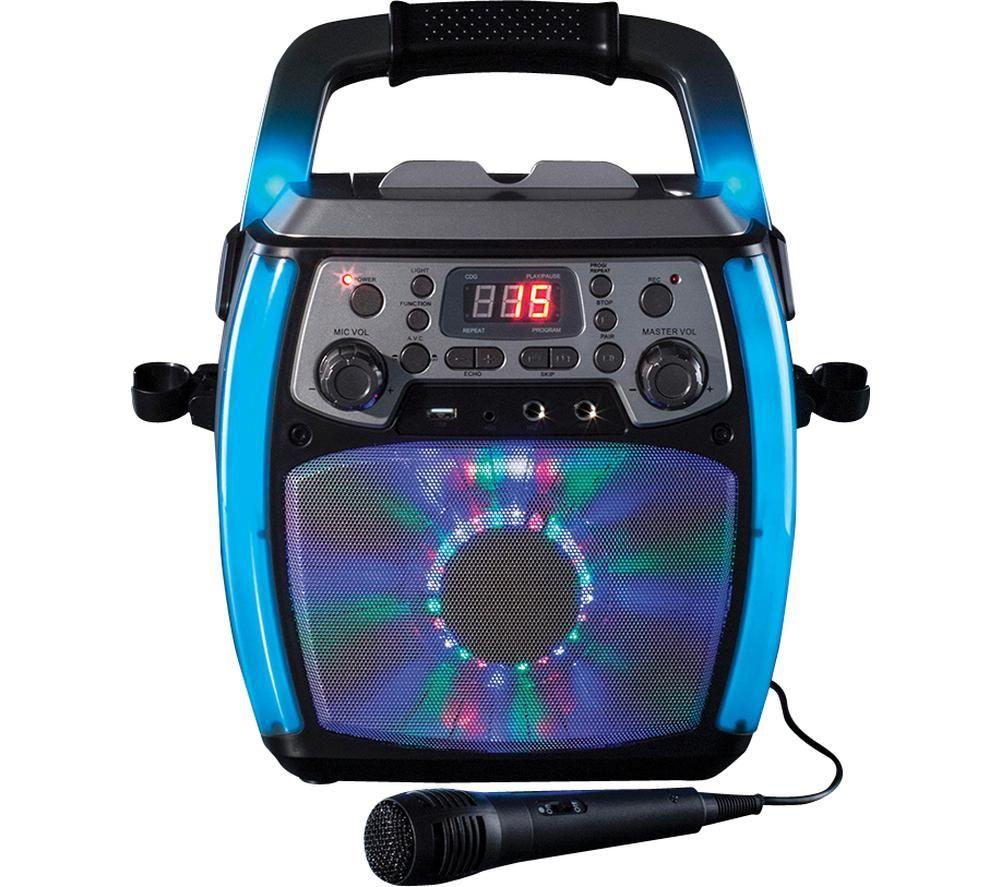 DAEWOO AVS1301 Bluetooth Karaoke System - Black, Black