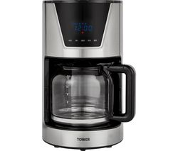 T13010 Filter Coffee Machine - Silver