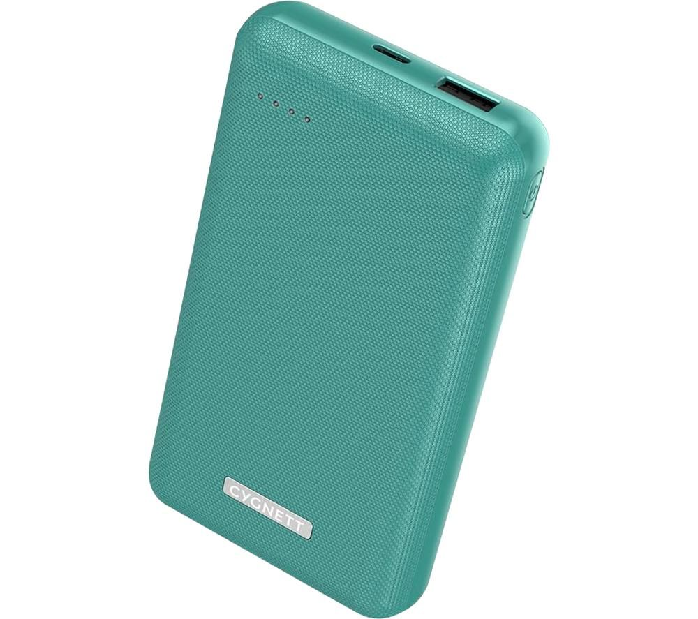CYGNETT ChargeUp Reserve Portable Power Bank - Green, Green