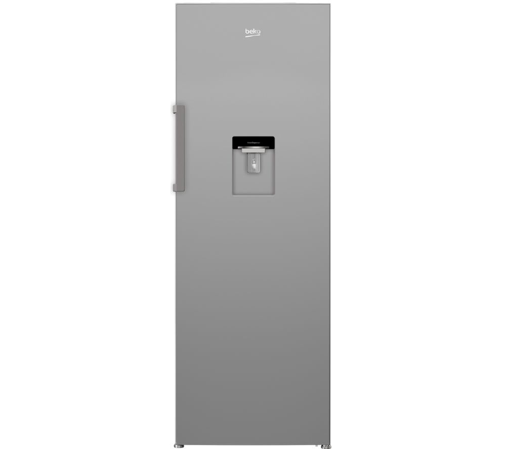 Image of BEKO LSP3671DS Tall Fridge - Silver, Silver