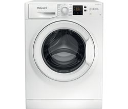 Core NSWR 843C WK UK 8 kg 1400 Spin Washing Machine - White