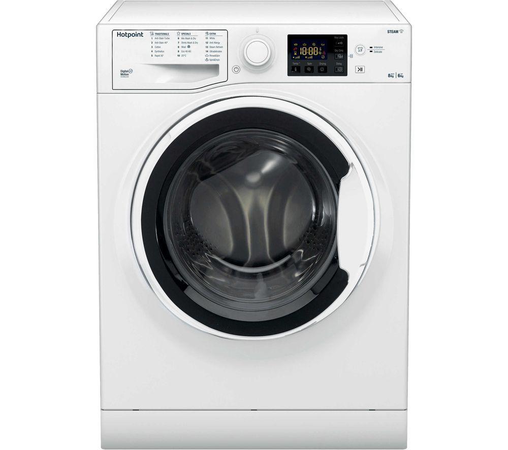 HOTPOINT RDG 8643 WW UK N 8 kg Washer Dryer - White, White