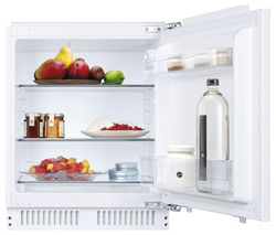 HBRUP 160NK/N Integrated Undercounter Fridge - Fixed Hinge