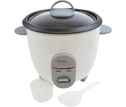 KitchenPerfected E3302 Rice Cooker - White