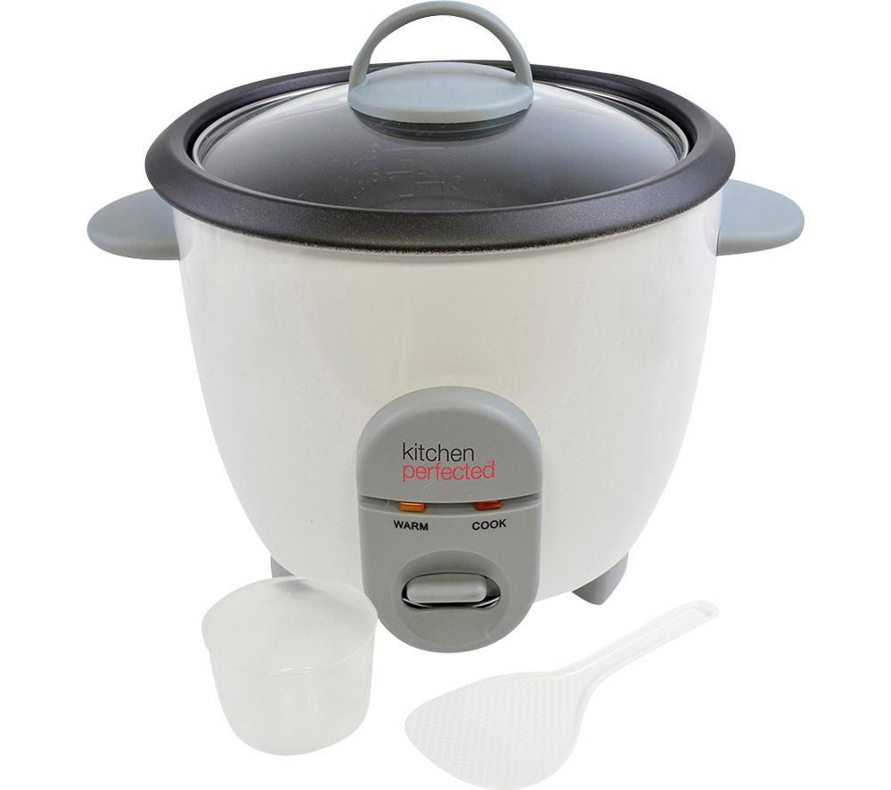 KITCHEN Perfected E3302 Rice Cooker - White