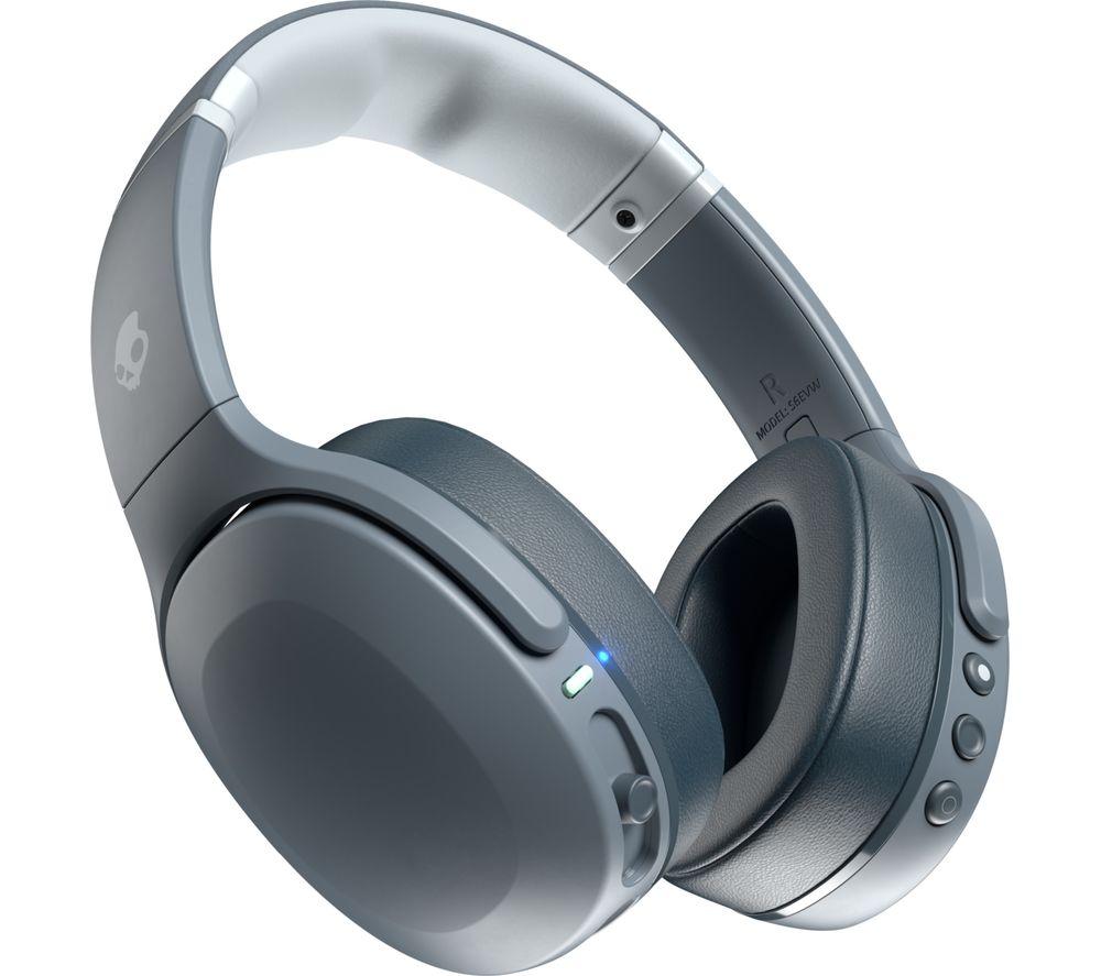 SKULLCANDY Crusher Evo Wireless Bluetooth Headphones - Chill Grey, Grey