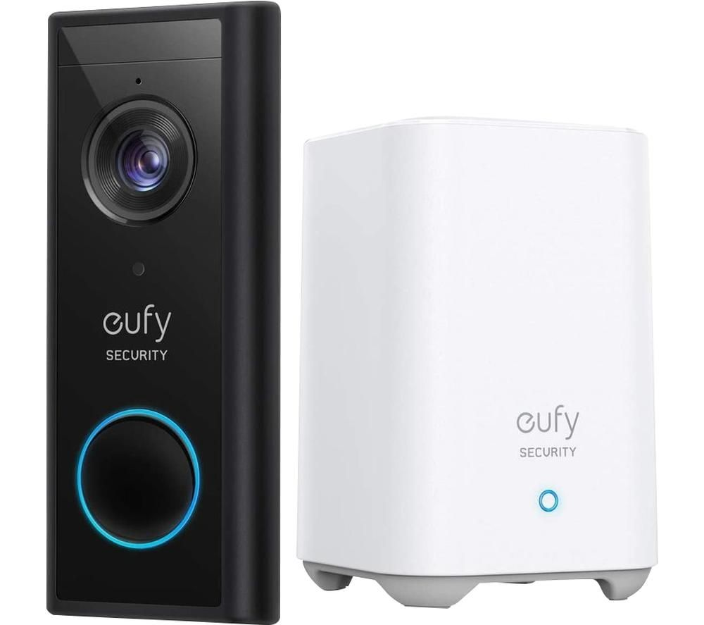 EUFY Video Doorbell 2K with HomeBase - Battery Powered