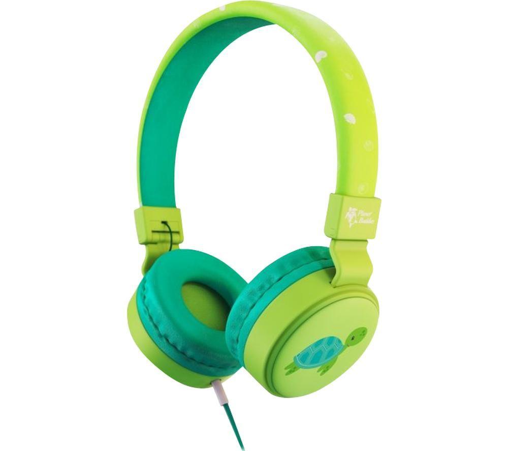 PLANET BUDDIES PBTUWHP Kids Headphones - Milo the Turtle