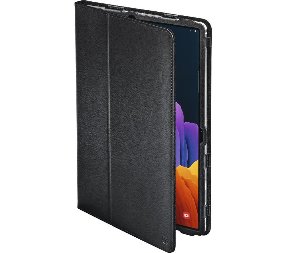 """HAMA Essential Bend 12.4"""" Samsung Galaxy Tab S7+ Case - Black"""