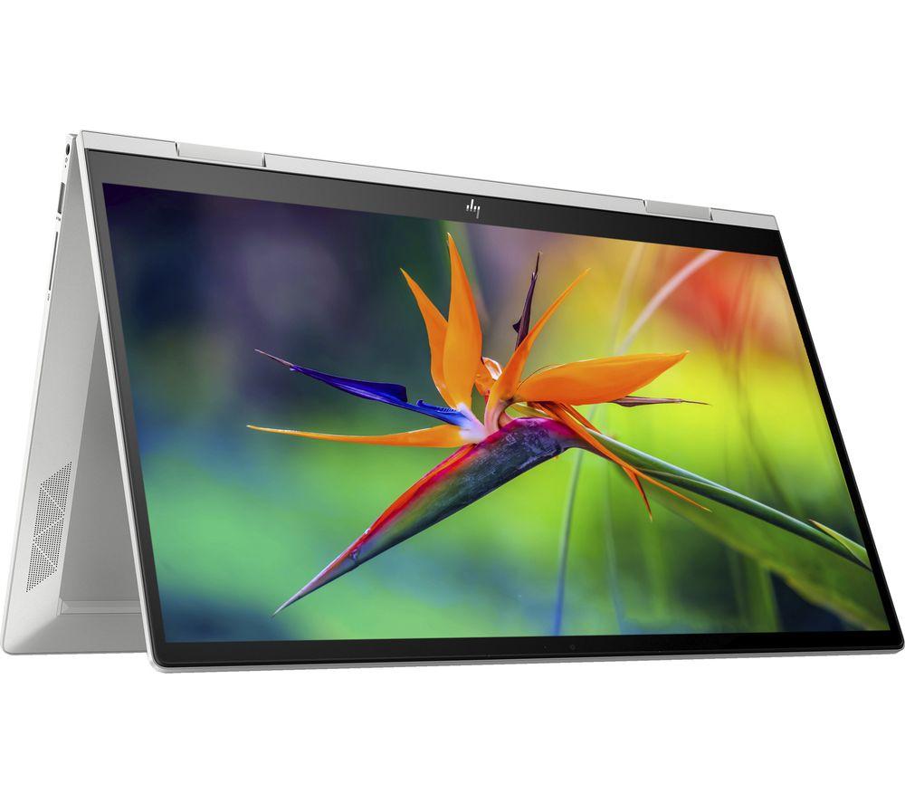 """HP ENVY x360 15.6"""" 2 in 1 Laptop - Intel® Core™ i7, 512 GB SSD, Silver"""