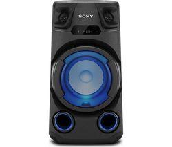 MHC-V13 Bluetooth Megasound Party Speaker - Black