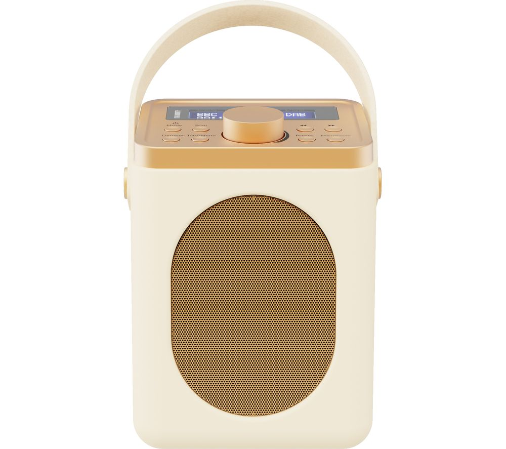 Image of MAJORITY Little Shelford LSH-DAB-CRM Portable DABﱓ Bluetooth Radio - Cream, Cream