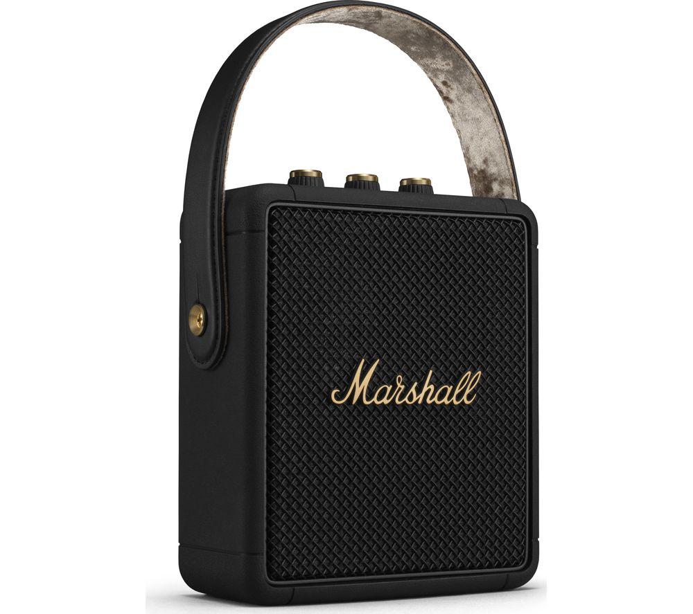 MARSHALL Stockwell II Portable Bluetooth Speaker - Black & Brass