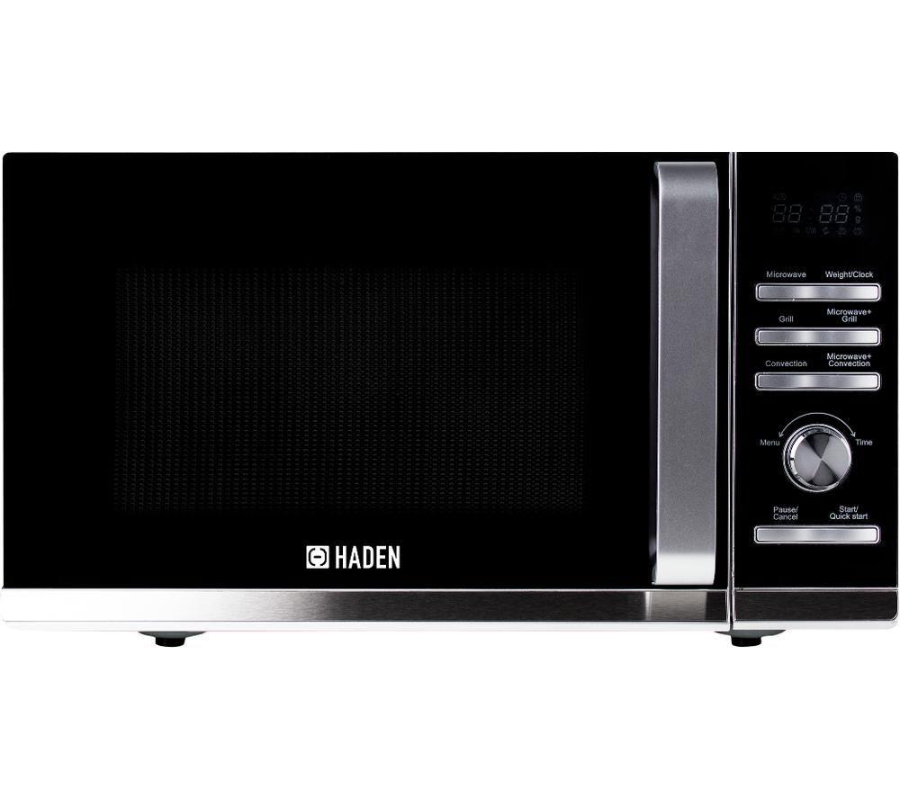HADEN 199102 Combination Microwave - Silver