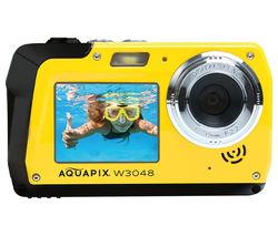 Aquapix W3048 Edge Compact Camera - Yellow