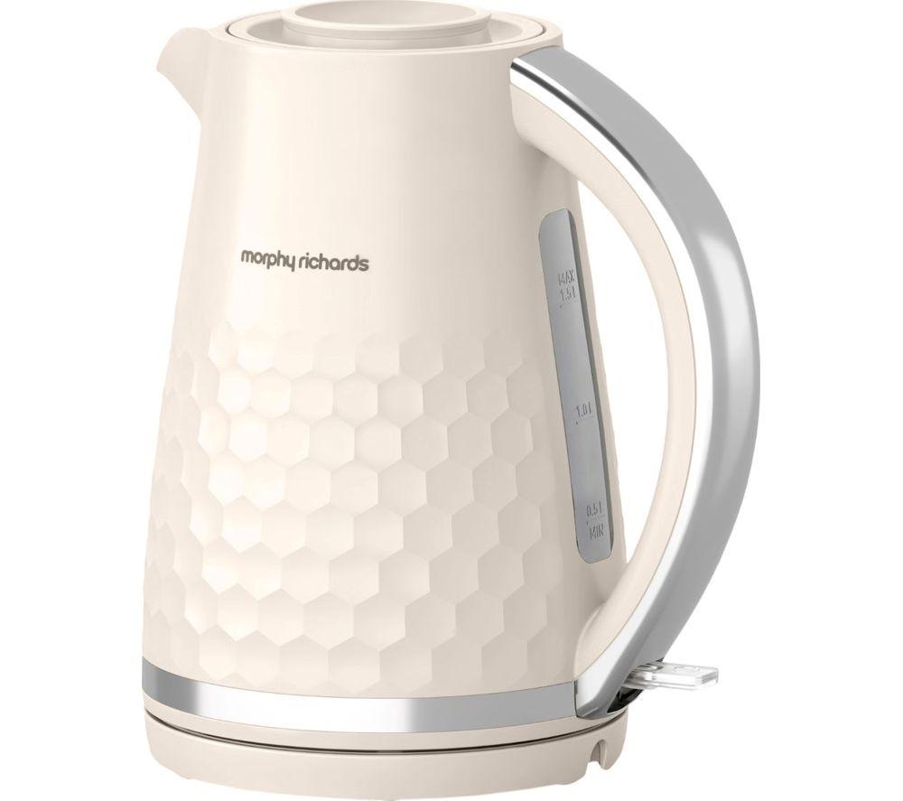 MORPHY RICHARDS Hive 108272 Jug Kettle - Cream, Cream