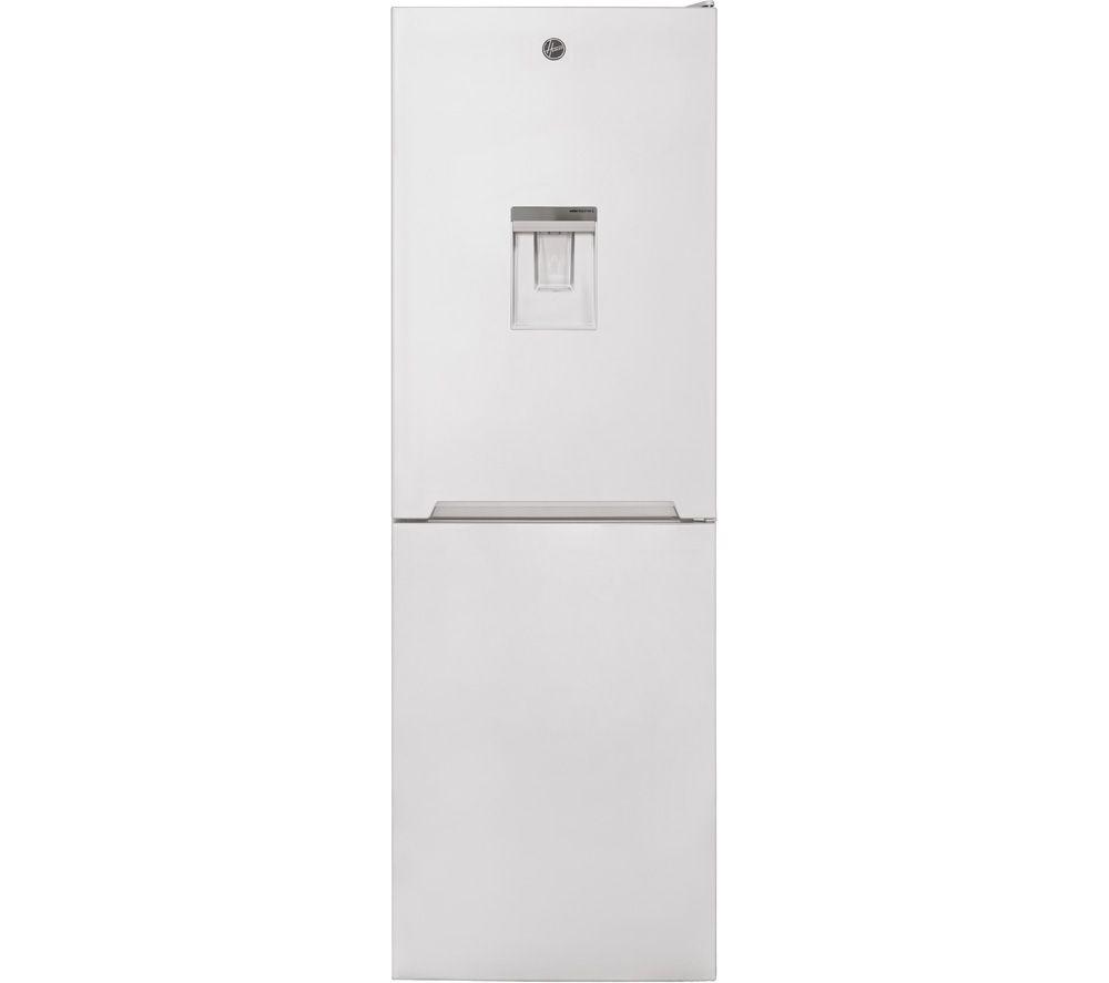 HOOVER HVNB 618FX5WDK 50/50 Fridge Freezer – White, White