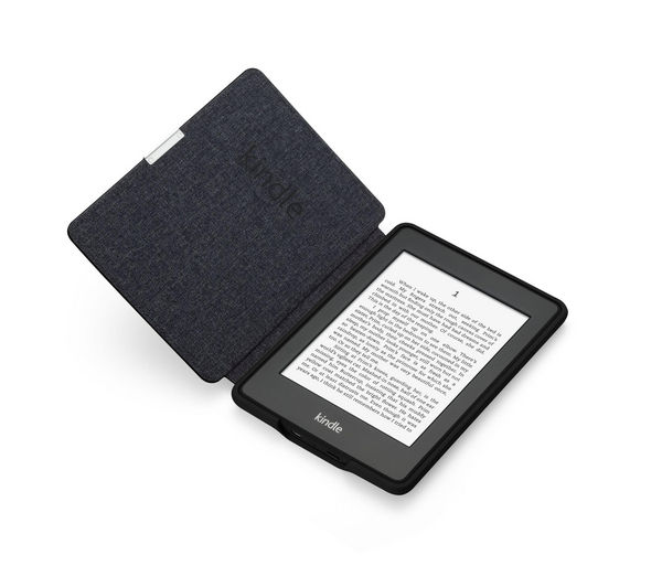 B008BADT4K - AMAZON Kindle Paperwhite Leather Cover - Black