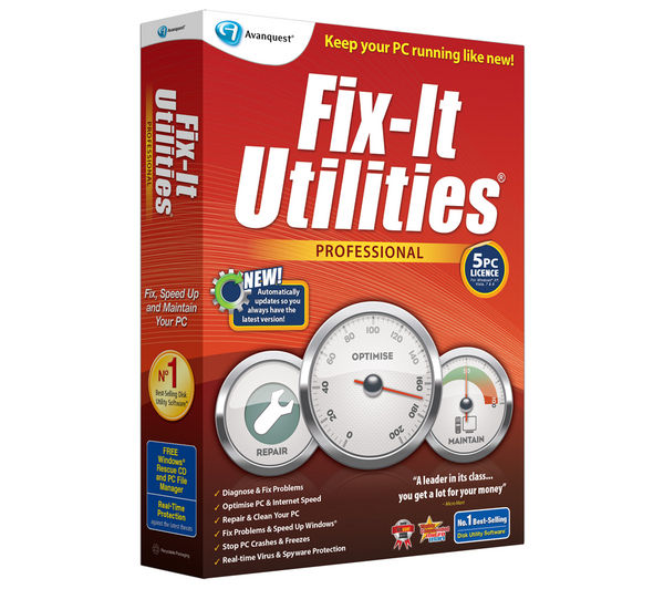 Image of AVANQUEST Fix-It Utilities Professional