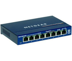 NETGEAR ProSafe GS108 Network Switch - 8 Port