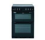 BELLING FSG60DO Gas Cooker - Black
