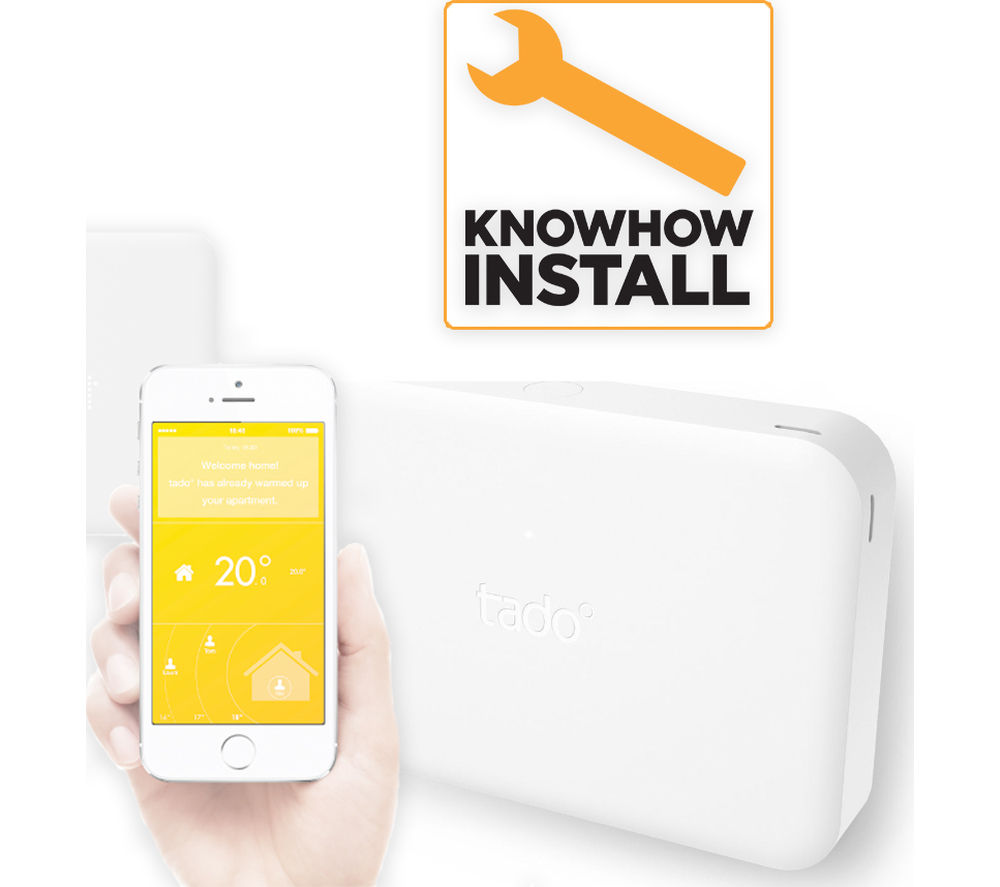 TADO Smart Thermostat with Extension Box and Installation
