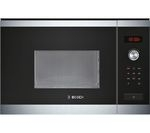 BOSCH HMT75M654B Built-in Solo Microwave - Stainless Steel
