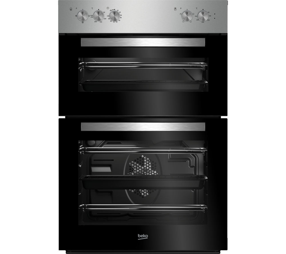 BEKO BXDF21100X Electric Double Oven - Stainless Steel