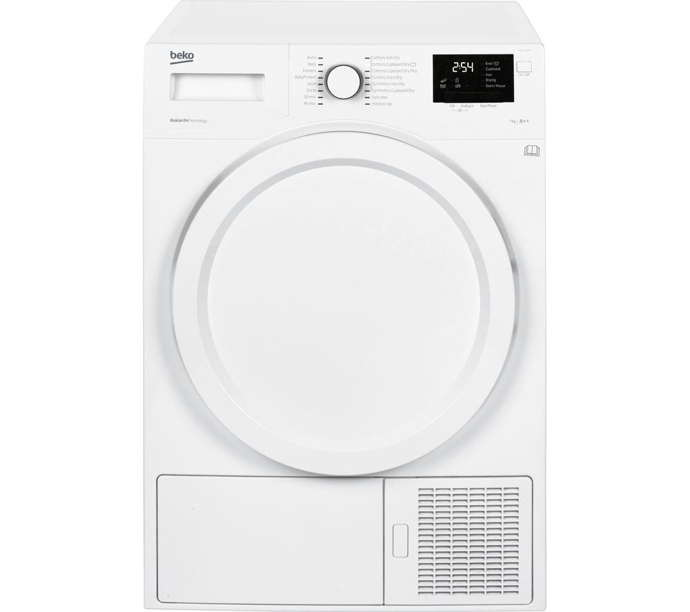 BEKO DHY7340W Heat Pump Tumble Dryer - White