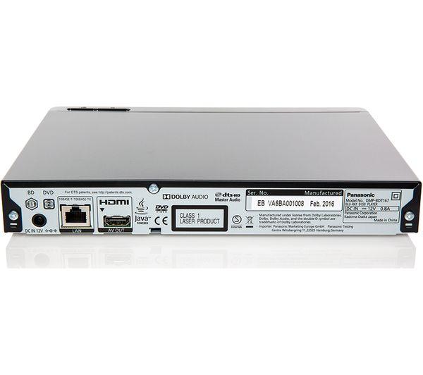 Panasonic DMP-BDT165 Blu-ray Player Windows 8