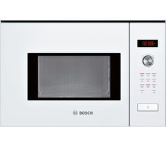 BOSCH Serie 6 HMT75M624B Built-in Solo Microwave - White