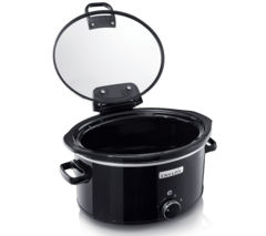 CROCK-POT CSC031 Slow Cooker - Black Best Price, Cheapest Prices