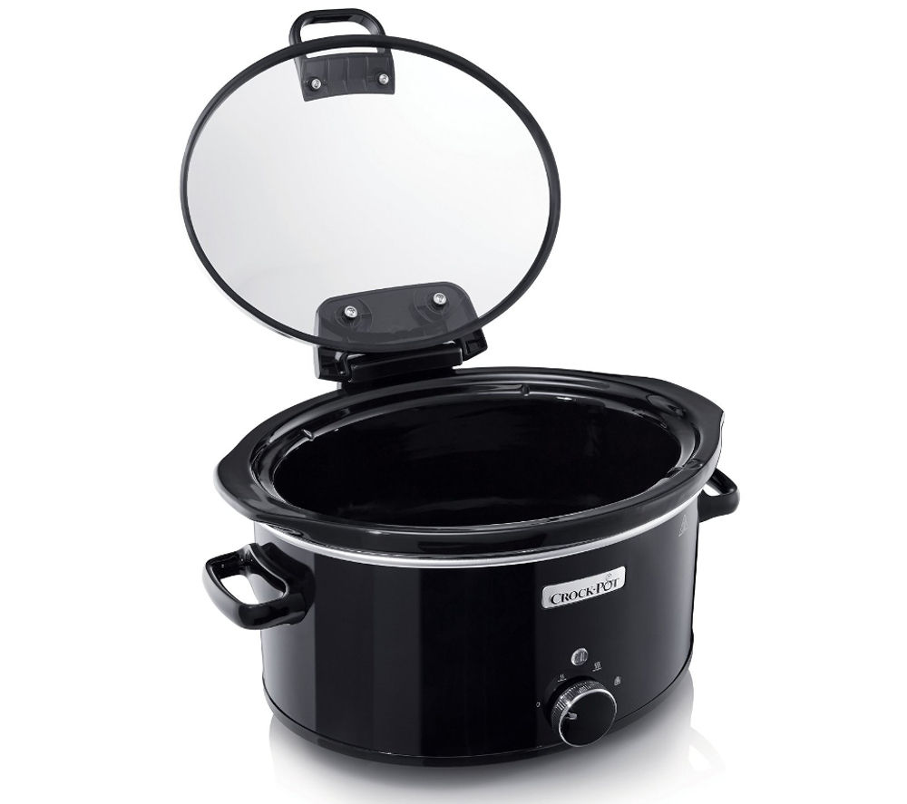 Image of CROCK-POT CSC031 Slow Cooker - Black, Black
