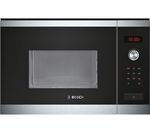 BOSCH HMT84M654B Built-in Solo Microwave - Stainless Steel