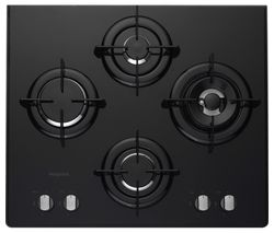 DD 642 P/H BK Gas Hob - Black