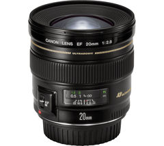 CANON EF 20 mm f/2.8 USM Wide-angle Prime Lens