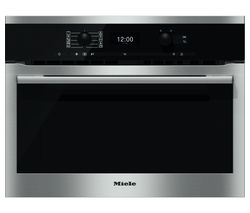 MIELE H6300BM Compact Electric Oven - Stainless Steel