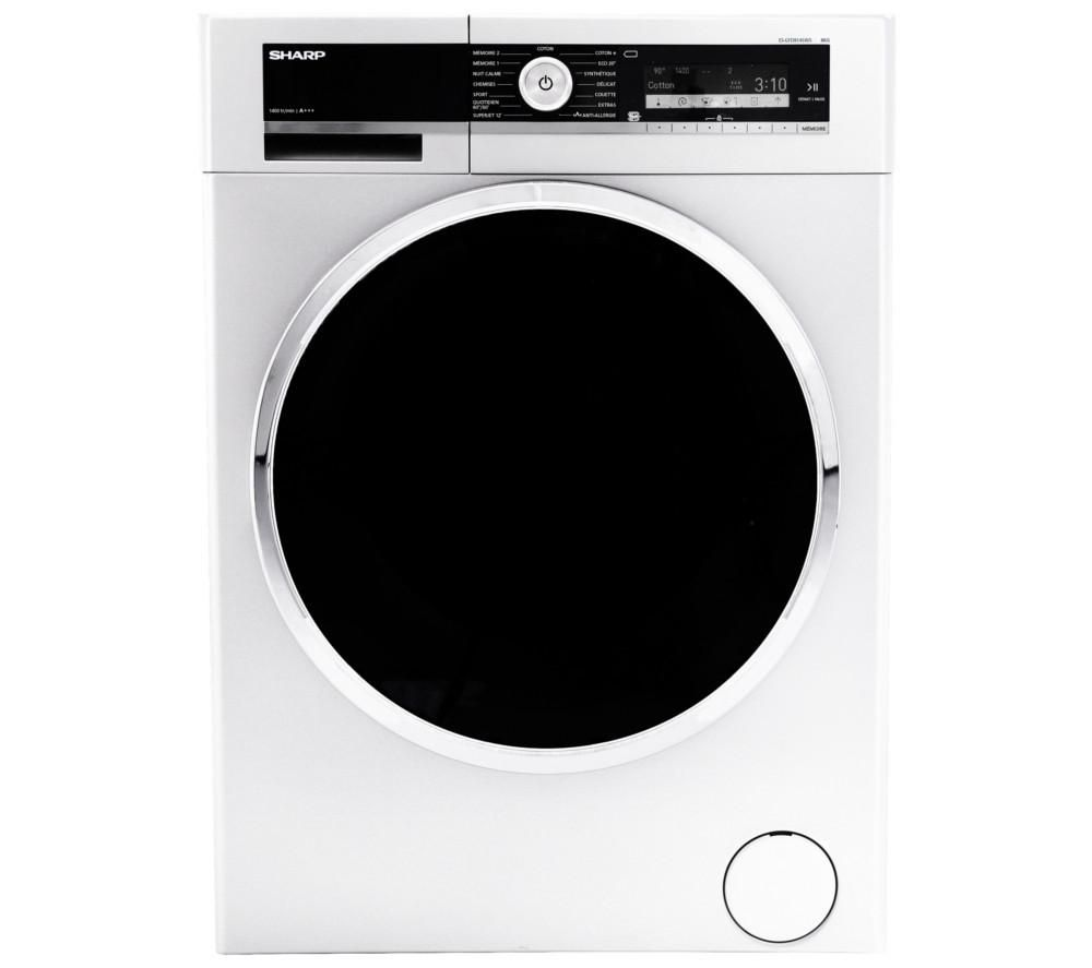 SHARP ES-GFD8145W5 Washing Machine - White