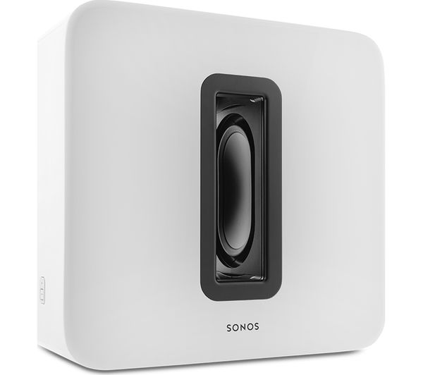 Buy Sonos Sub Wireless Subwoofer White Free Delivery