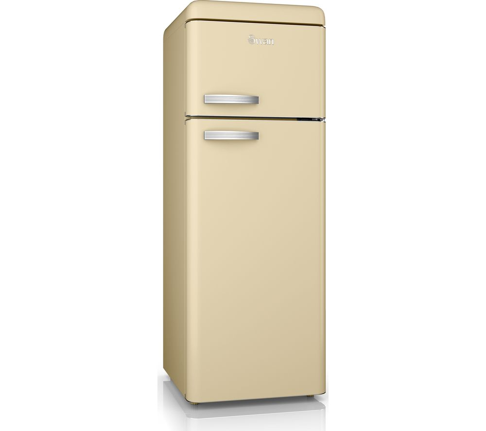 SWAN SR11010CN 80/20 Fridge Freezer - Cream