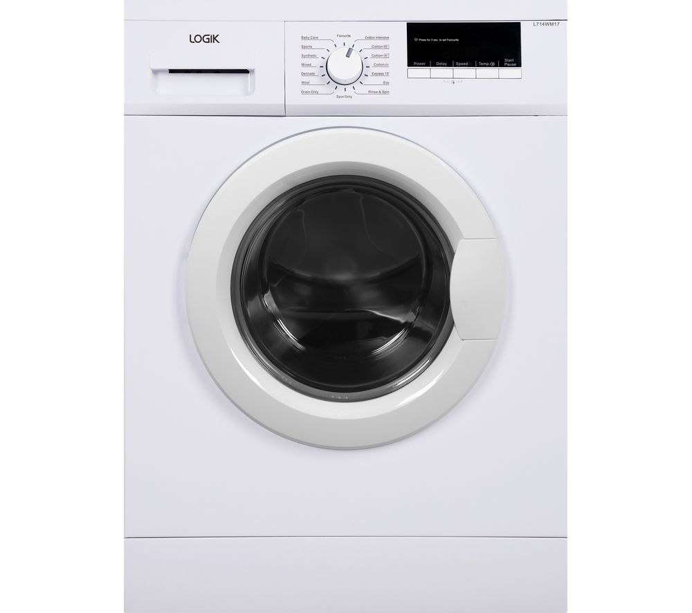 LOGIK L714WM17 7 kg 1400 Spin Washing Machine - White