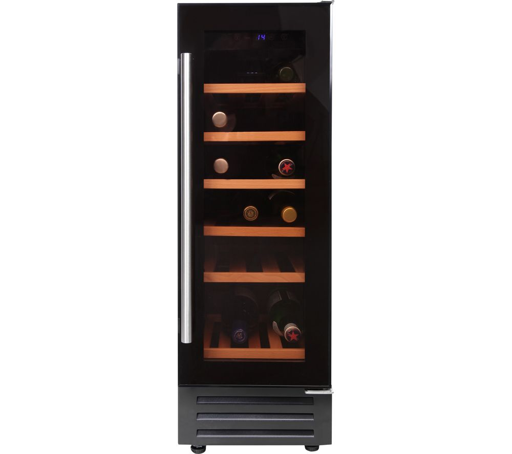 BELLING 300BLKWC Wine Cooler - Black, Black