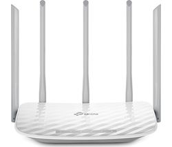 TP-LINK Archer C60 WiFi Cable & Fibre Router - AC 1350, Dual-band
